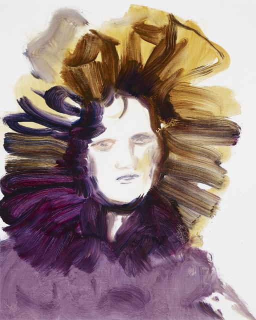 , 'Headdress (study),' 2016, LLE