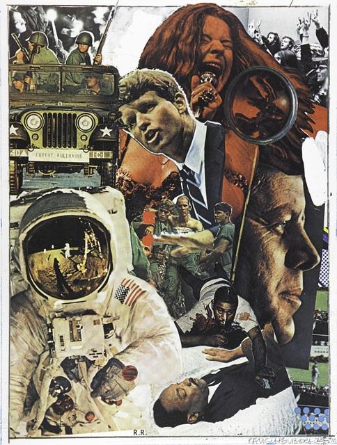 Robert Rauschenberg, 'Signs', 1970, Print, Screenprint in colors on wove paper, Zane Bennett Contemporary Art