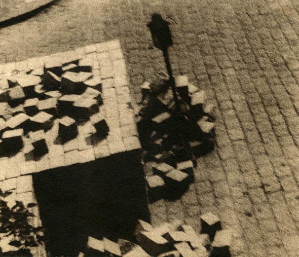 Stanislav Konecny, 'Paving Blocks and Lamp', 1930s, Contemporary Works/Vintage Works