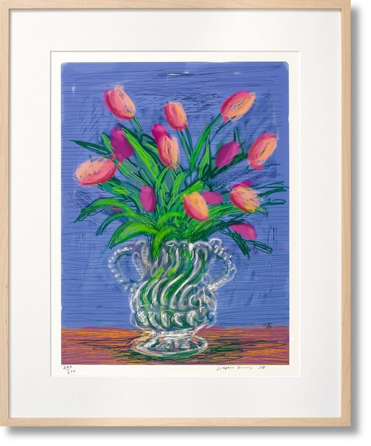 , 'David Hockney Art 'Edition B 'ipad Flower Series (Taschen Sumo),' 2010, Mr & Mrs Clark's