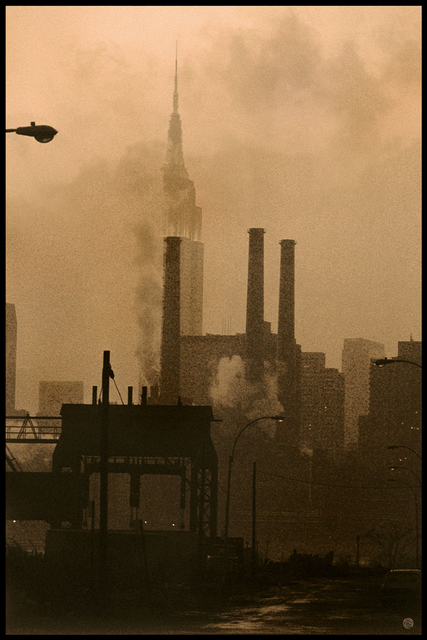 Michael Yamaoka, 'View of Manhattan from Long Island City', 2021, Photography, Digital Print on Aluminum, The Galleries at Salmagundi