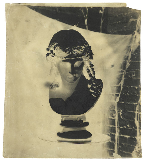 , 'Bust of Dionysus,' early 1850s, Hans P Kraus Jr. Fine Photographs