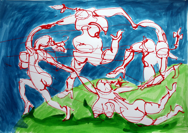 , 'Jigging,' 2018, Sulger Buel Gallery