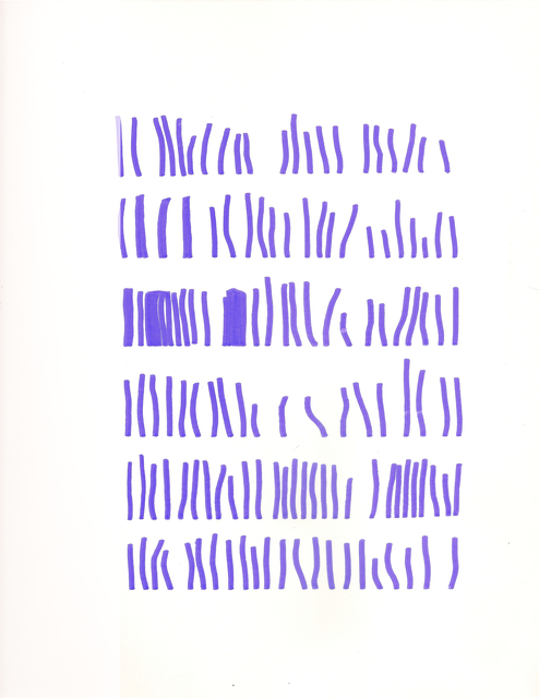, 'Sin título (Texto),' ca. 1972, Henrique Faria | Buenos Aires