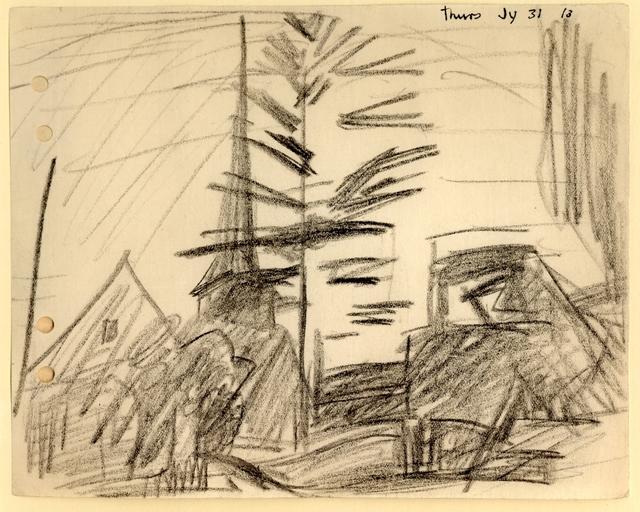 , 'Kirche in Gelmerode mit Baum,' 1913, Henze & Ketterer
