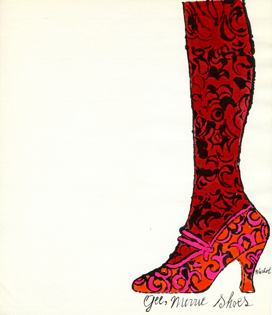 Andy Warhol, 'Gee Merrie Shoes', 1956, Woodward Gallery