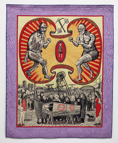 Grayson Perry, 'Death of a Working Hero', 2016, Paragon
