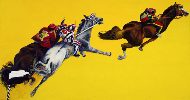 , 'Cavalli (3),' 1995, Galerie Ostendorff