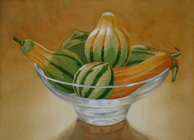 , 'Striped Gourds,' 2009, InLiquid
