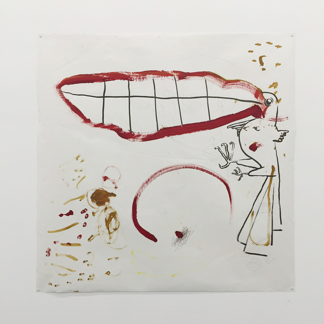 , 'Autoconfusión 2 (in collaboration with Ana Victoria Cruzvillegas),' 2015, Diablo Rosso