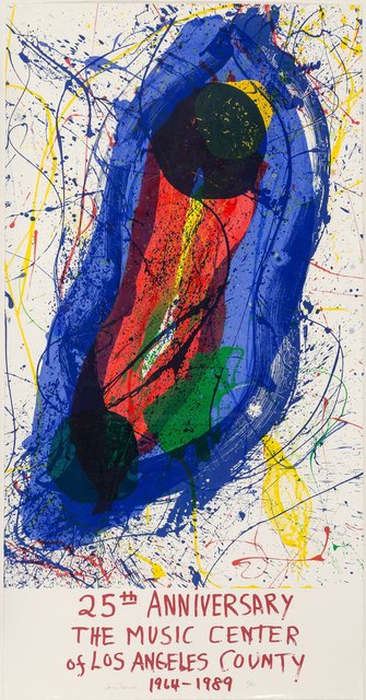 Sam Francis, 'Untitled (25th Anniversary of the Music Center of Los Angeles County)', 1988, Heritage Auctions