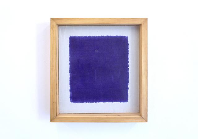 , 'Untitled (painted from the back),' 1983, Galerija Gregor Podnar