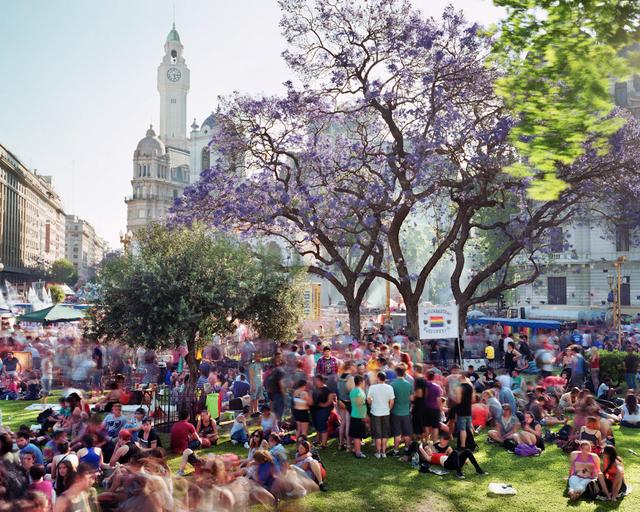 , 'Plaza de Mayo, Barrio de Monserrat, Buenos Aires, Argentina,' 2014, Anastasia Photo