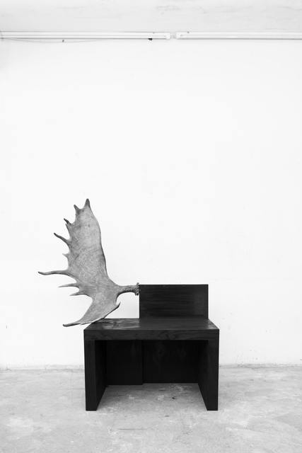 , 'Stag Bench (left),' 2016, Jason Jacques Gallery