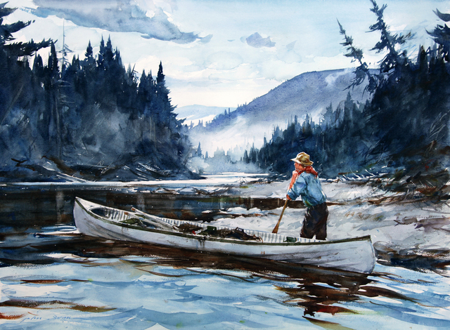 , 'River Guide,' 2014, Quidley & Company