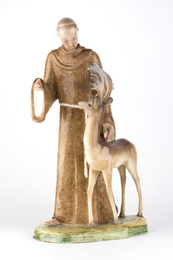 Saint Francis and the deer