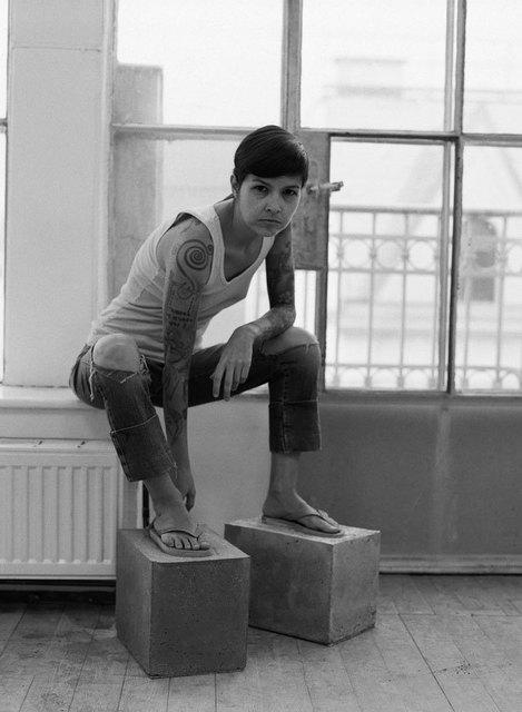 , 'Setting Foot: deconstructing the sapatão (Self-portrait 01),' 2013, Charim Galerie