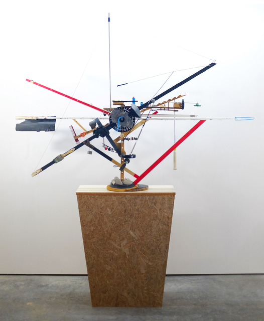 Jeroen Frateur, 'Something like a Construction Crane 'Moulin Rouge'', 2016-2020, Installation, Mixed media, Aeroplastics
