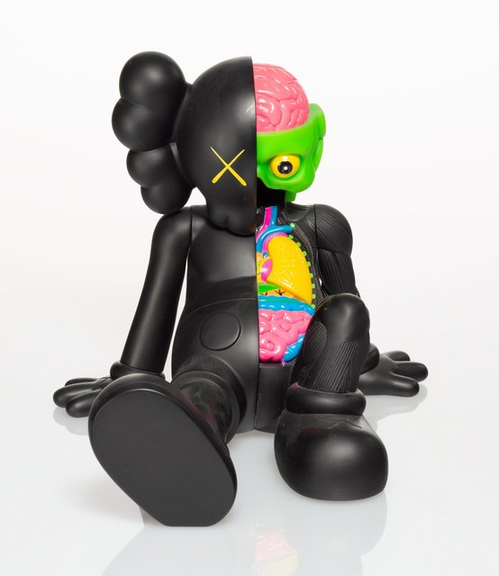 KAWS, 'Resting Place Companion (Black)', 2013, Heritage Auctions
