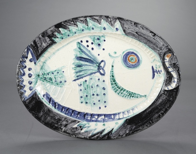 Pablo Picasso, 'Poisson de profil (A.R. 132)', 1951, Sotheby's