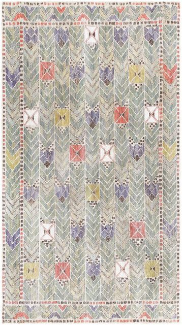 Märta Måås-Fjetterström, 'Vintage Swedish Tapestry ', ca. 1950, Nazmiyal Collection
