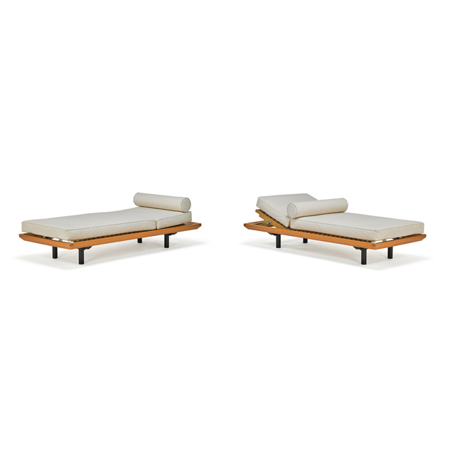 'Pair Of Adjustable Daybeds, Germany', Late 20th C., Rago/Wright
