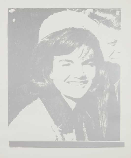 Andy Warhol, 'Jacqueline Kennedy I (Jackie I), from 11 Pop Artists, Volume I', 1966, Print, Screenprint in silver, on wove paper, with full margins, Phillips