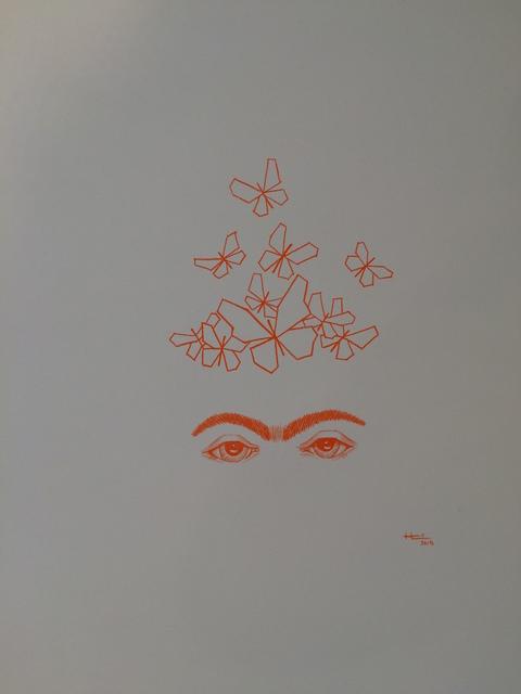 , 'Orange Frida with Butterflies,' 2015, Studio 905 on Juniper