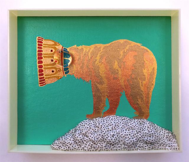 Erica Rosenfeld, 'CAKE-BEAR II', 2019, Heller Gallery