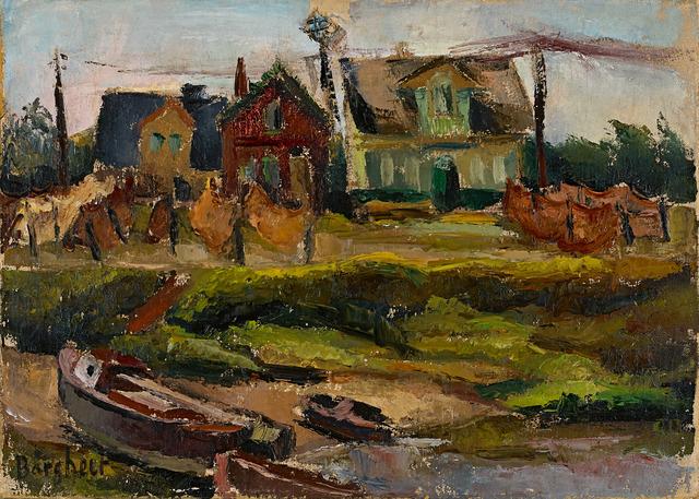 , 'Finkenwerder,' 1926-1928, Galerie Herold