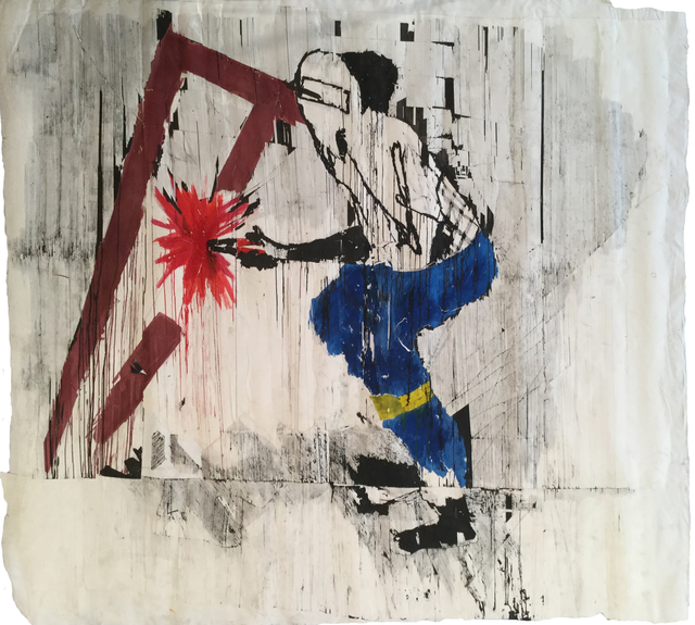 , 'Kunama-nama Pano (Welding Set Up Shop),' 2016, Tiwani Contemporary