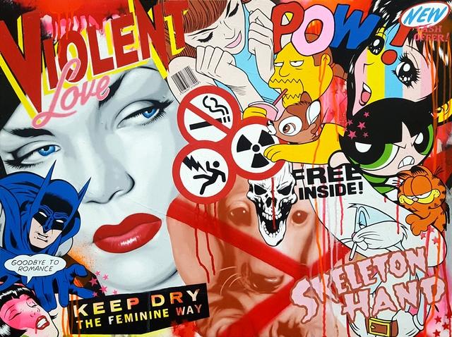 , 'Violent Love,' 2017, StolenSpace Gallery