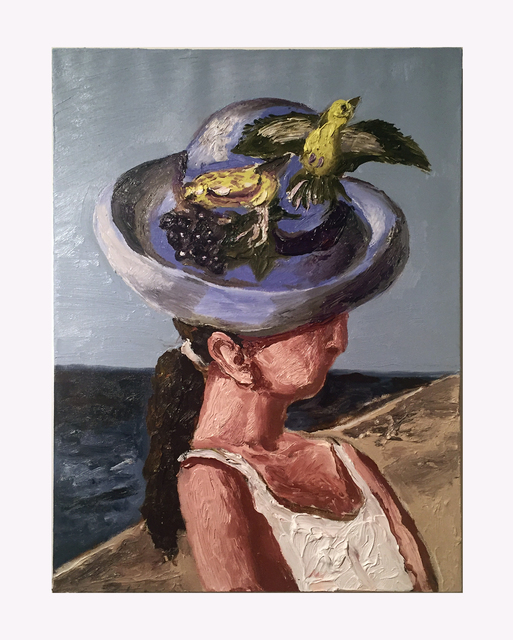 , 'Hat with Bird,' 2017, Hal Bromm