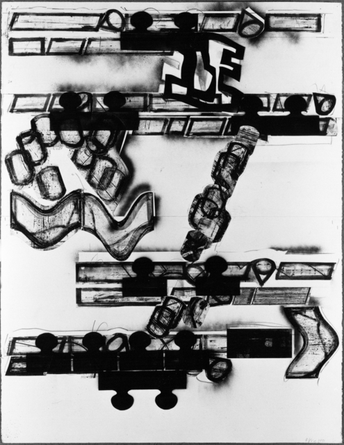 , 'Plan View for Floor Sculpture,' 1991, Jahn und Jahn