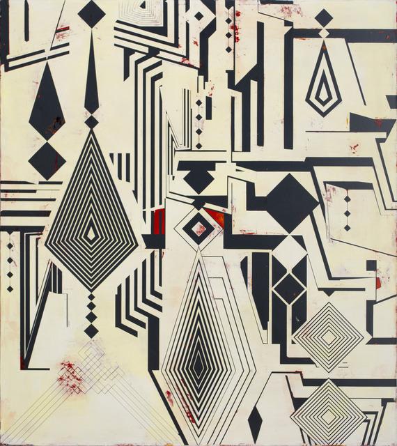 , 'Ishtar Watergate,' 2013, Galería Hilario Galguera