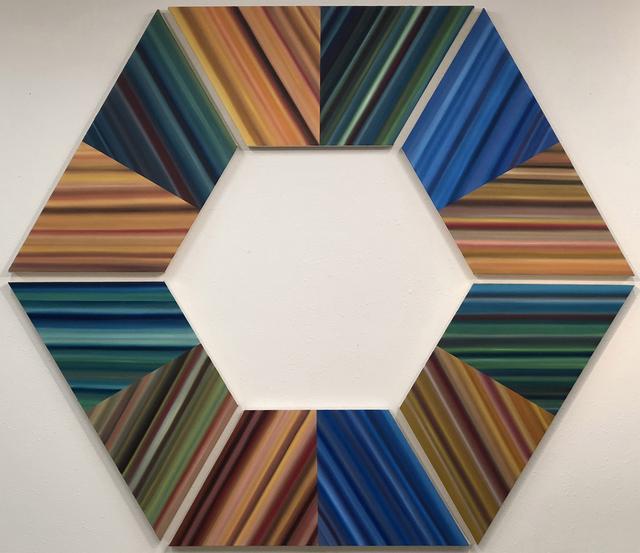 , 'Trapezoid Series V,' 2018, Rosenbaum Contemporary
