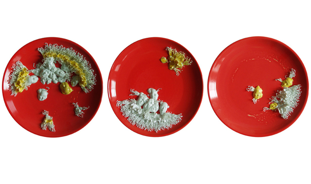 , 'Digesting Mao (Set 1),' 2007, Lisa Sette Gallery