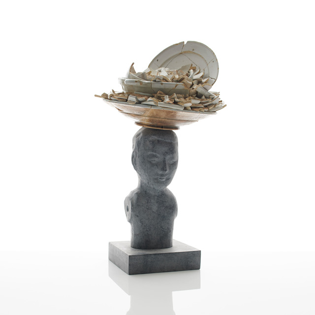 , 'Bronze Bust I,' 2018, Adrian Sassoon