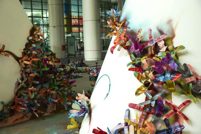 ZNC, 'Gardens, By the Way', 2013, Singapore Art Museum (SAM)