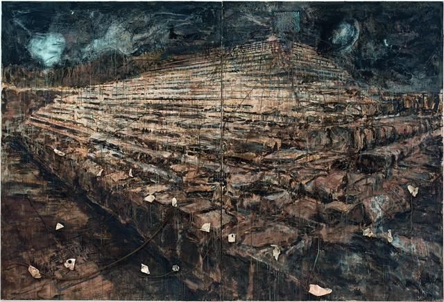 , 'Osiris und Isis,' 1985-1987, Centre Pompidou