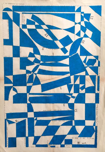 , 'Block Party N.35,' 2019, Emmanuelle G Gallery