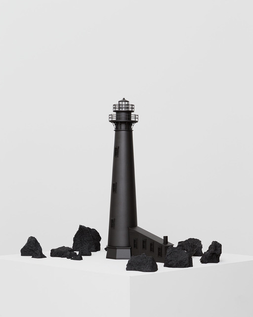 , 'Black Lighthouse II / Faro negro II,' 2016, Galería OMR