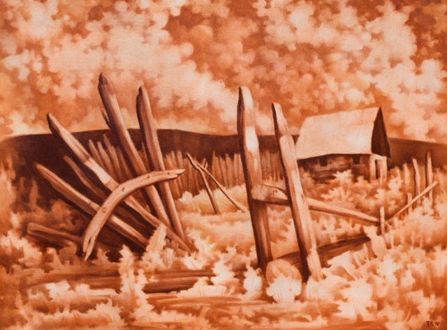 , 'Old Corral,' , Modernist Frontier