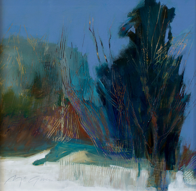 , 'Blue,' , Abend Gallery