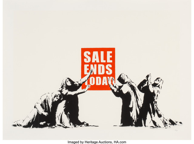Banksy, 'Sale Ends', 2006, Heritage Auctions