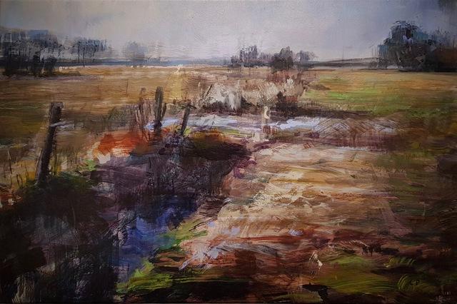 Laurent Dauptain, 'Fossé dans un pré', 2007, Hugo Galerie