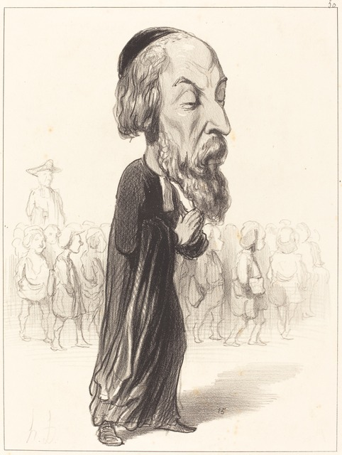 Honoré Daumier, 'A. Fréd. Pierre comte de Falloux', 1849, National Gallery of Art, Washington, D.C.