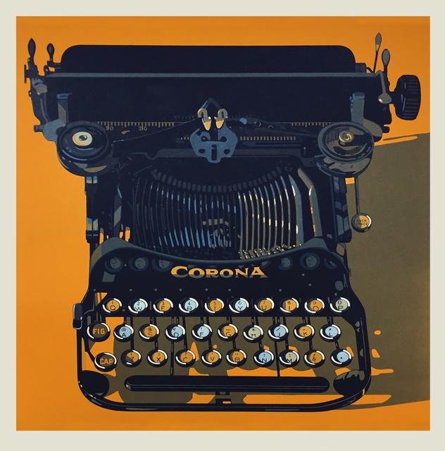 , 'CORONA,' 2015, Tandem Press