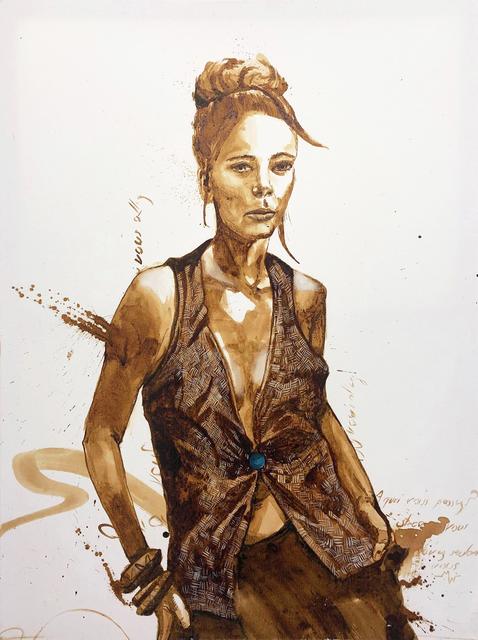 MineWill, 'Lady's coffee 3', 2019, Galerie Libre Est L'Art