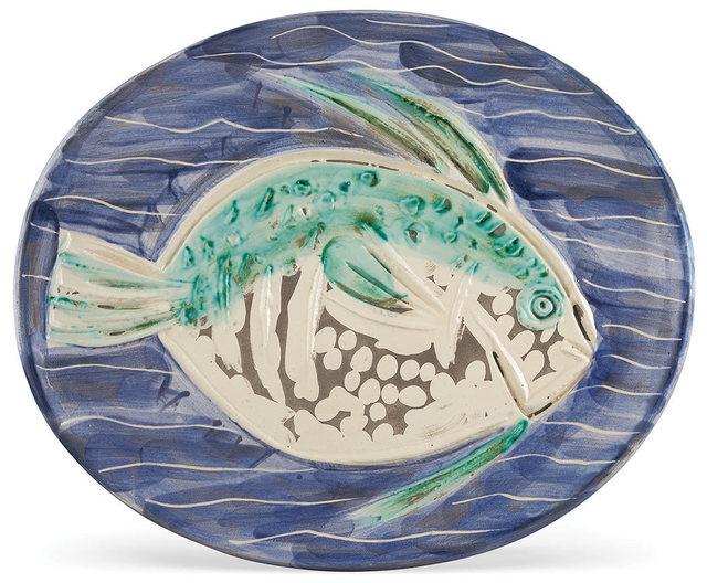 Pablo Picasso, 'Poisson Bleu (A.R. 180)', 1953, Doyle